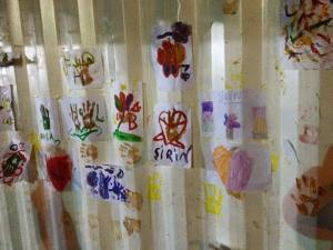 Pictures painted and drawn by the refugee children of Kara Tepe Refugee Camp in Lesvos.