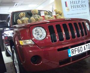 Jeep Event for Help For Heroes.