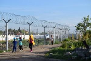 Tabanovce refugee Transit Camp