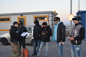 Pakistani refugees detained by Greek Coast Guard with fake papers pretending to be Syrian